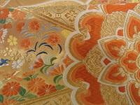 唐織の帯ですが、織りの質はどう見えますでしょうか?
