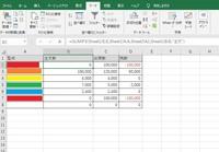 SUMIF関数を使って、注文数と出荷数、残数の把握をしたいと考えており、表のように関数を当てはめました。 他のA列の型式は集計ができていますが、なぜかA2の型式のみ注文数が集計されません。 (A7もA2と同じ方式を入れて色々試してみましたが、こちらも集計されませんでした。) 型式は、集計したい部分からコピペしているので、型名が間違っているはなさそうです。  バージョンは2019を使用...