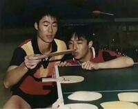 卓球の中国選手にはスティガのラケットが人気なんですか?