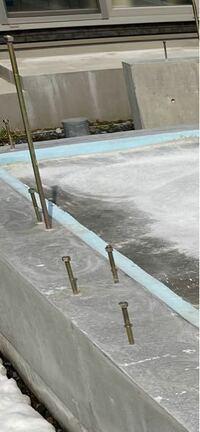 新築で基礎コンクリート打設が終わりました。 アンカーボルトの位置に問題ありませんか?