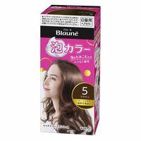 黒髪用のヘアカラーにはブリーチ剤が含まれてますが、ブローネの白髪用泡カラーにはブリーチ剤は含まれているでしょうか?