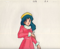 このセル画のキャラクターって誰ですか。 古そうなんだけど。