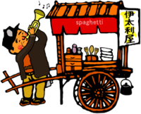 ナポリタン(スパゲッティ)は和製で、イタリアのナポリにはナポリタン・スパゲッティは存在しないと聞きましたが、それは本当ですか?