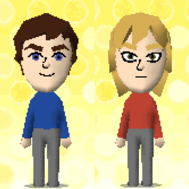 トモコレでジョナサンとディオ作ったんですが…似てませんよね(可愛さ重視なんで)