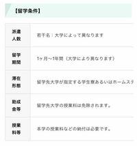 阪南大学からの交換留学で、慶熙大学に留学するとどれくらいの期間留学出来ますか? 調べたところ写真のようにしか出てきませんでした、、