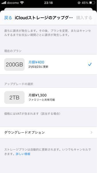 iPhone使用、iCloudについて質問です。 今200GBを契約していて、写真で容量がいっぱいになりiCloudに保存出来ていない状態です。 要らない写真はちょこちょこ消していますが増え続け...