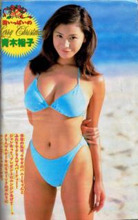 グラビアアイドルだった青木裕子さんは人気がありましたか?