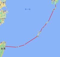水不足の台湾に、パイプラインで水を送る計画ですが、図のように、島伝いにパイプを敷いて、島にポンプを据え付けて、 加圧すれば送れますよね?  これなら、台湾だけでなく、沖縄が水不足に成っても対応できます。