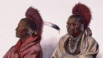 インディアン(ネイティブアメリカン)がウォー・ペイント(化粧)する際に何を使ってるんですか?