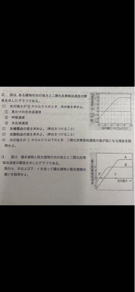 大問2の(4)と大問3を教えていただきたいです ♂️
