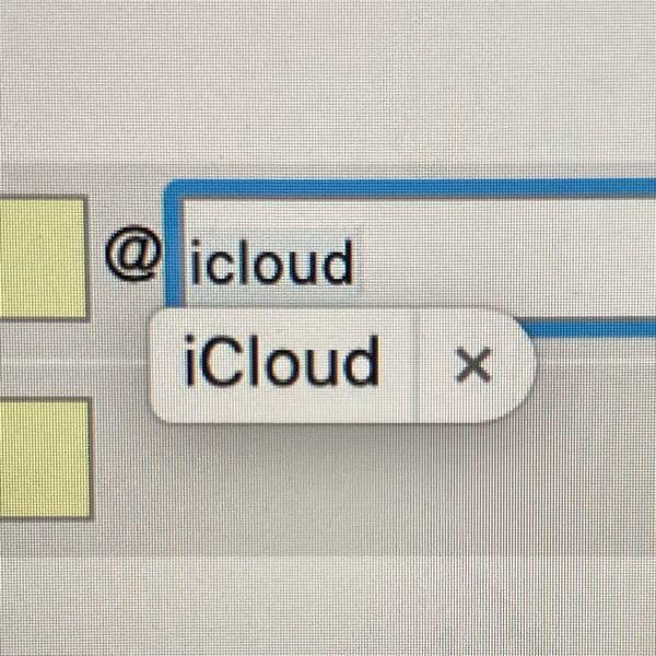 MacBookでicloudと入力しようとすると、下の写真のように表示され、無視すると勝手にCを大文字に変換されます。 メールアドレスは小文字なので非常に邪魔です。 どうすれば無効にできますか?