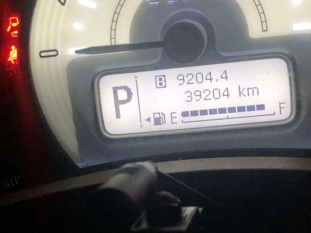 このマークは何ですか? このBみたいなキロ数の横についてるマークです。 #ラパン #アルトラパン #スズキ #車