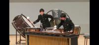 打楽器奏者の方へご質問です。 音楽については無知の者で何れ打楽器をやってみたい者でもあります、ご質問です。 画像のように銅鑼と大太鼓(バスドラム or グランカッサ)の同時演奏を演奏する事はプロの演奏でよくやることでしょうか?曲と共に教えてください。またマレットは同じ物で行ってるのでしょうか?  ※画像はYouTubeの動画からの引用です 念のためモザイクをいれております