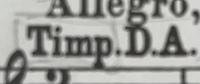 ティンパニについての質問です。 画質が悪く申し訳ございません。 この表記がある場合、DとAにチューニングしたティンパニを使うということでいいのでしょうか....?