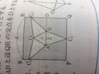 解説にoc2は正方形の対称軸と書いてあるのですが、なぜそう言えるのですか?
