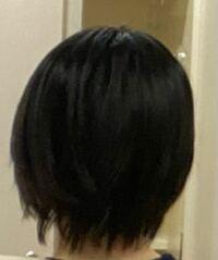 ロングヘアにしたくて髪を伸ばしてるのですが、ショートは整えながら伸ばすべきですよね?少し不揃いでもそのまま伸ばすべきですか?それとも一旦毛先が揃ったボブになってから伸ばすべきですか?今後ろから見た時に 写真のような状態なのですが、襟足は何センチくらい切ってもらうべきでしょうか?