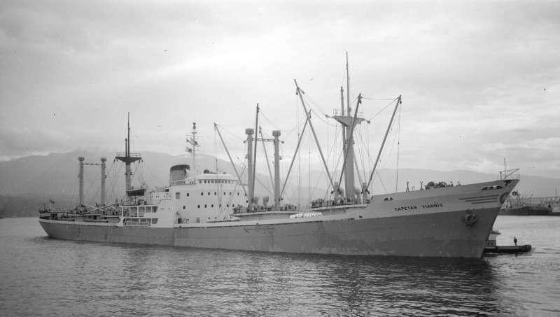 この船(Capetan Yiannis 1956 日立)は58年にセントローレンスからハンブルグに小麦を運びました。 なぜセントローレンスから小麦が運ばれたんでしょうか?