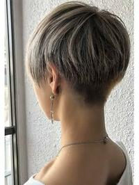私は絶壁、ハチ張りなんですが、こういう画像のような髪型って似合うと思いますか? ツーブロックにしたいんですが、刈り上げることで絶壁が強調されてしまいますか?