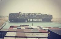 スエズ運河で座礁したエヴァ―グリーンと云うコンテナタンカー船は ヒラリークリントン財団のモノだそうですが‥正栄汽船と云う日本の 船舶会社が関わってますが・・・  コンテナの中の荷物は子供だったって本当なんですか?