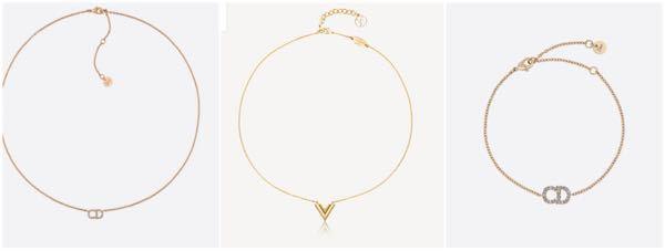 Diorのネックレス、VUITTONのネックレスかDiorのブレスレットを買おうか悩んでいますどれがいいと思いますか? ネックレスとブレスレットで違いますが… 現在ブレスレットはMIUMIUの...