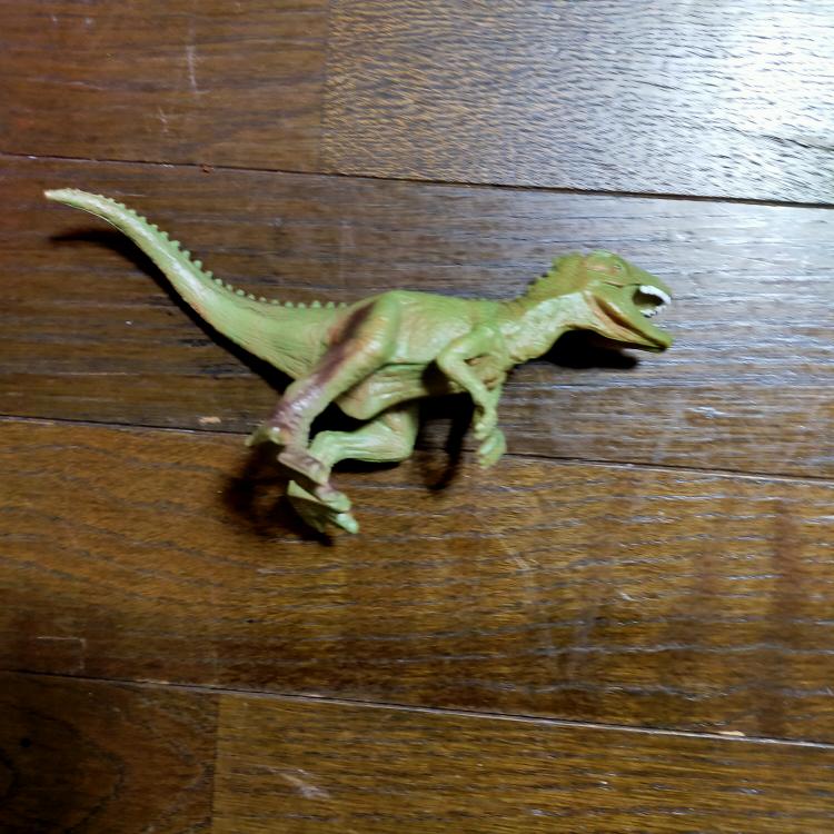 この恐竜の名前は何ですか?