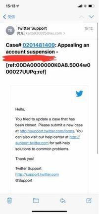 至急お願いします!Twitterが凍結され異議申し立てメールに返信したところ全ての機能が戻ったのですが写真のようなメールが来ました。何をすればいいのでしょうか?