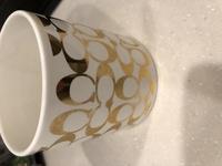 金色の塗料が使われた、COACHのマグカップがあるのですが、食洗機で洗えるでしょうか?
