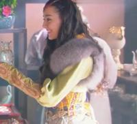中国の歴史ドラマで毛皮の付いた服を着ている人は 今のモンゴルなどの寒い地域の人間なのでしょうか? 中国語わからないのですがたまに動画サイトでオススメに出てくることが あるので見ると毛皮が付いた服を着てる女性がいるのでどうなんだろう?と 気になりました。  なお画像はイメージでこの作品の話をしているわけではないです。