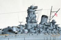 艦船模型の大和の海軍色についての質問です。 写真のものはピットロードの呉海軍色とあり、以前に利用したことがありますがこのような青みがかかったような色ではありませんでした。 写真と同じような色を今回出したいと思いますが何をどのような割合で調合するとこのような色となるかわかる方、教えていただきたく思います。