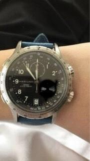 知恵袋で見つけたのですが、このハミルトンの時計のモデルは何ですか? よろしくお願いします。