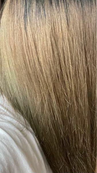 髪の履歴が 縮毛矯正(2020年2月) 暗めの茶色に染める(2020年3月) ブルーブラックに染める(2020年6月) ブルーブラックに染める(2020年8月) セルフでエンシェールズカラーバターネイビーブルー (2020年9月) ブリーチ1回+ラベンダーグレージュ(2020年11月) セルフでエンシェールズカラーバターネイビーブルー(2021年1月)で 下の画像は現在(2021年4月)の色...