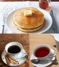 これを食べる際は、飲み物はどちらが良いですか?