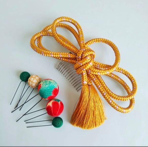 こういった、タッセル付きの組紐はどこで購入することができますか? 成人式用に探しています。