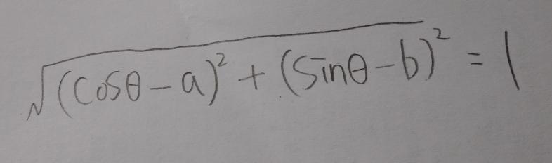 この方程式のa、bを出すにはあと何個の方程式が必要ですか?