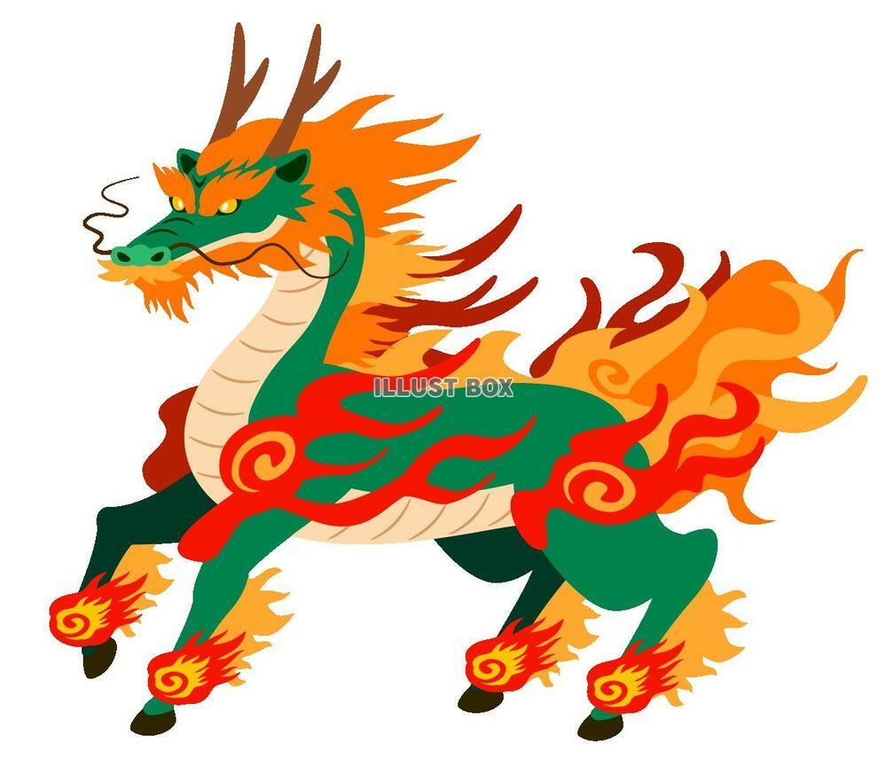 東洋の竜のモデルになったのはキリン・麒麟ですか? 顔が似ているように思います。竜の胴体は大蛇に見えますので、この2つを組み合わせたものじゃないでしょうか? キリンビールにも似たような絵が使われてますね?