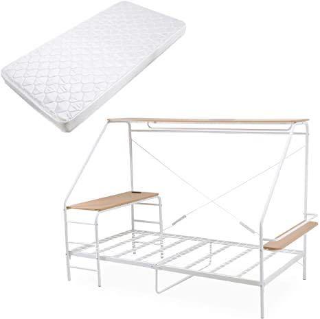 ロウヤの人をダメにするベッドについて質問なのですが、奥のクロスしてある細長いパーツはどこを支えるのに必要なのですか?邪魔なのでそこだけ取り外したいのですが、危険でしょうか?