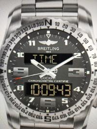 このブライトリングの 腕時計の型番と名前を教えて下さい。
