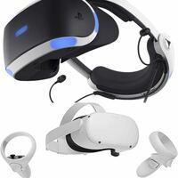 VRゴーグル - PSVRとOculus Quest 2、どちらが高性能ですか? 例えば、VR対応の動画ソフトを見た場合、リアリティに差があるのでしょうか?