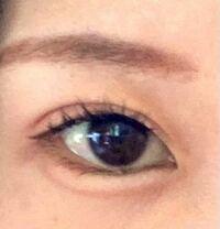 この目って かなりツリ目な方ですよね? どんな印象持ちますか?