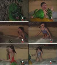 プールで水着姿の子供たちに恐怖ドッキリ仕掛ける外国の番組、どう思いますか? 日本でもウケるでしょうか?