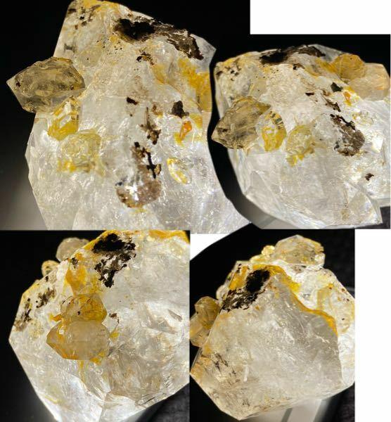 今日お迎えした鉱石の名前を忘れてしまいました。レシートにも書いてありません。 「○○ダイヤ」、みたいな曖昧な記憶しか残っていません………。写真の鉱石の名前が分かる方、教えていただけると嬉しいです。