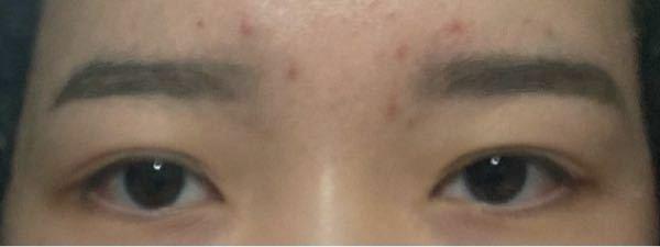 この眉毛バレますか。
