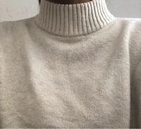 こんにちは! バイトの証明写真についてですが、、、  ネットで調べたら白いシャツが良いって書いてあるのですが、白のセーターでも大丈夫ですか?( ; ; )   シャツはストラップのはいったシャツしか無いです( ; ; )  こんな感じのセーターです(>人<;)