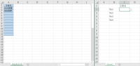 エクセル得意な方教えて頂きたいです。  参照元は別シートで、ドロップダウンリストを作成する方法。 <前提> 下記対応ができ、無事自分の手元では、プルダウンが選べるようになりました。  1.入力規則を入れたいエクセルを開く 2.数式>定義された名前>新しい名前 名前:参照元のエクセル名 範囲:ブック 参照範囲:参照元のリストにしたい部分を選択 3.入力規則を入れたいエクセル データ>リスト 元...