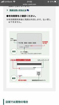 VISAギフトカードの認証番号ってどこに書いてあるんですか?