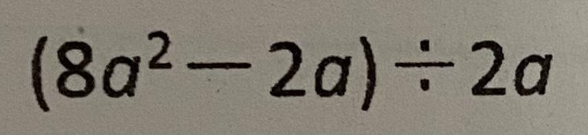 この式の答えを教えて頂きたいです。
