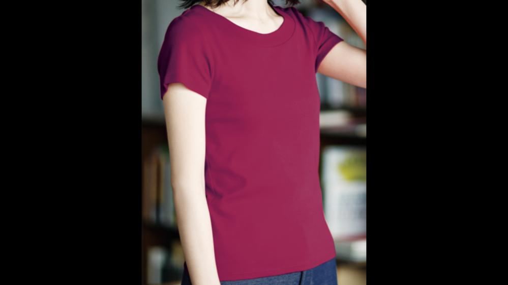 ラズベリー色のシャツ(因みにチュニック)には、どんな色のパンツを合わせたら良いですか?黒ですか?(写真はイメージです) 夏ファッション レディース