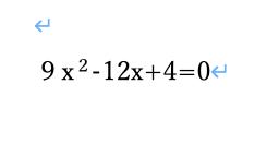 この式を計算すると、「x=2/3(重解)」となるようです。 その解説をお願い致します。