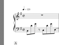楽譜が読めません。  この最初の音は何ですか?