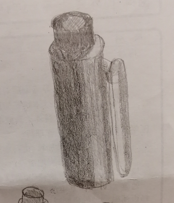 おかしいところを教えてください。 ペンのキャップです。 きれいに塗るにはどうしたらいいですか?